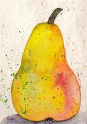 Art: Pear - sold by Artist Ulrike 'Ricky' Martin
