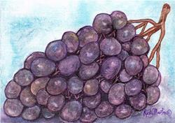 Art: Bunch of Grapes by Artist Ulrike 'Ricky' Martin