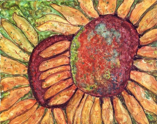 Art: Sunflowers by Artist Ulrike 'Ricky' Martin