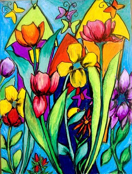 Birdhouses, Butterflies, & Tulips - by Chris Jeanguenat ...