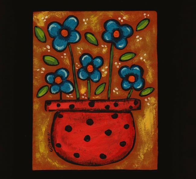Art: Blue by Artist Cindy Bontempo (GOSHRIN)