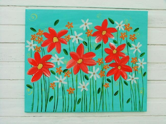 Art: Warm Summer by Artist Cindy Bontempo (GOSHRIN)
