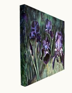 Detail Image for art Blooming Iris