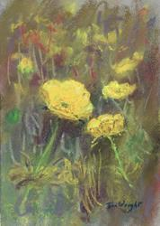 Art: Buttercups by Artist John Wright