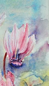 Detail Image for art Wild cyclamen