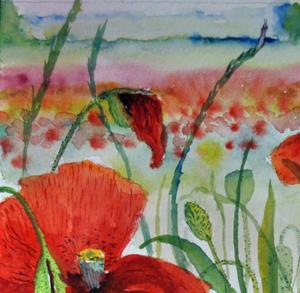 Detail Image for art Poppies