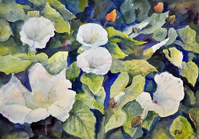 Art: Bindweed by Artist John Wright