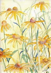 Art: Rudbekia by Artist John Wright