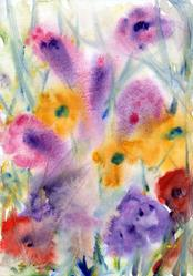 Art: Wildflowers (13) by Artist John Wright