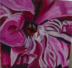 Art: Peony with Soul by Artist Heather Sims