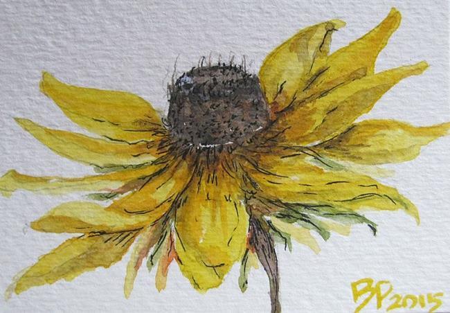Art: Black Eyed Susan-SOLD by Artist Bonnie Pankhurst