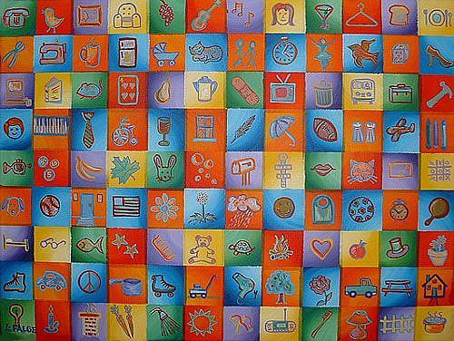 Art: Each In Their Own Little Box by Artist Lindi Levison