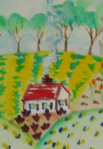 Detail Image for art Little House in the Hills