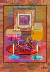 Art: Wine by Artist Mary Ogle