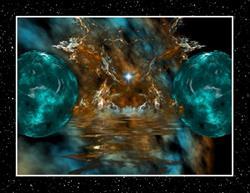 Art: Galaxy Star by Artist Mario Carini