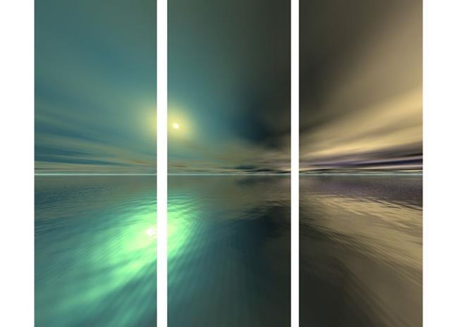 Art: Alien Sunrise by Artist Carolyn Schiffhouer