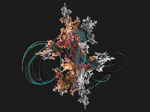 Art: Twining by Artist Carolyn Schiffhouer