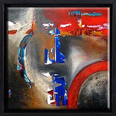 Detail Image for art FLOATER FRAME FOR FIDOSTUDIO'S PAINTINGS