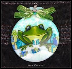 Art: So Many Presents by Artist Elaina Wagner