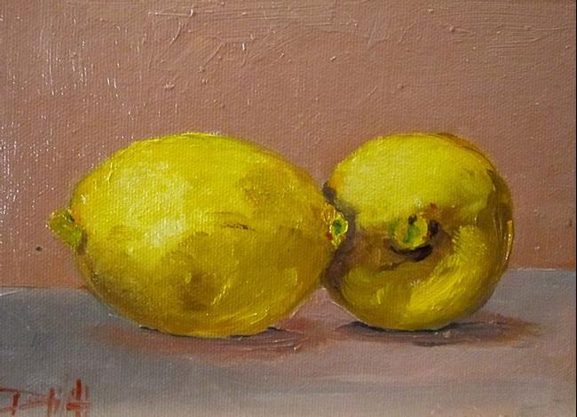 Art: A Lemon Kiss by Artist Delilah Smith