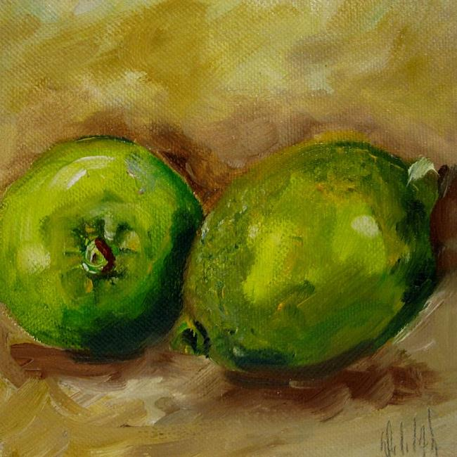 Art: Limes by Artist Delilah Smith