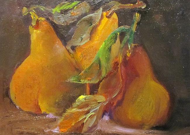 Art: Juicy Pears by Artist Delilah Smith