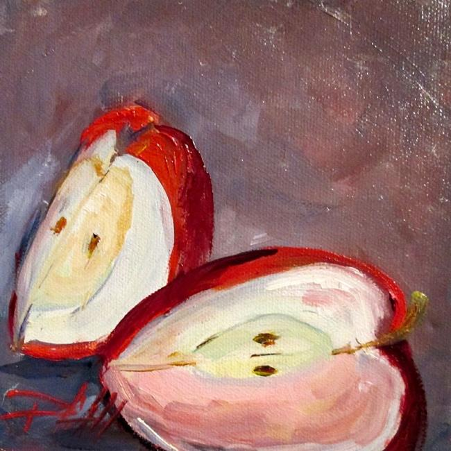 Art: Apple Slices-sold by Artist Delilah Smith