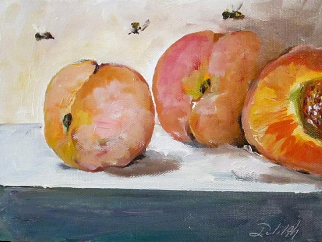 Art: Just Peachy by Artist Delilah Smith