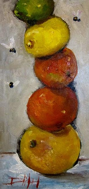 Art: Citrus Piled High by Artist Delilah Smith