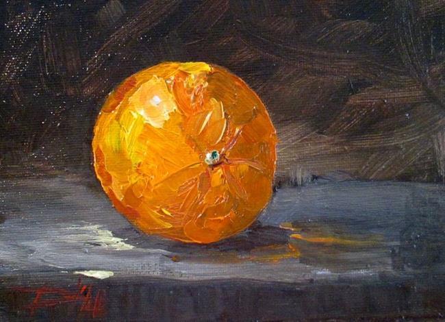 Art: Orange Still Life No. 2 by Artist Delilah Smith