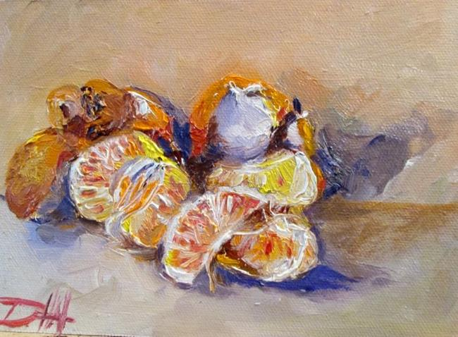 Art: Tangerines by Artist Delilah Smith