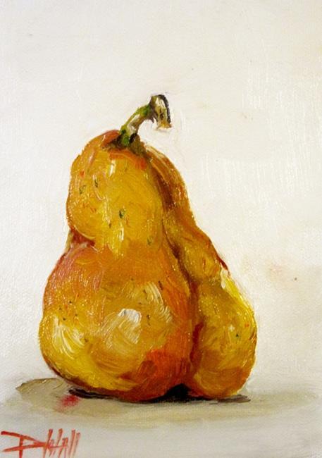 Art: Bartlett Pear by Artist Delilah Smith