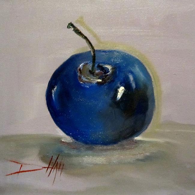 Art: Little Blue Berry by Artist Delilah Smith
