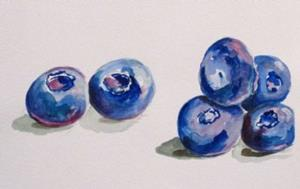Detail Image for art Blueberries