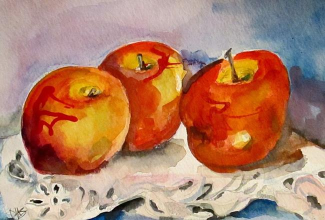 Art: Apples by Artist Delilah Smith