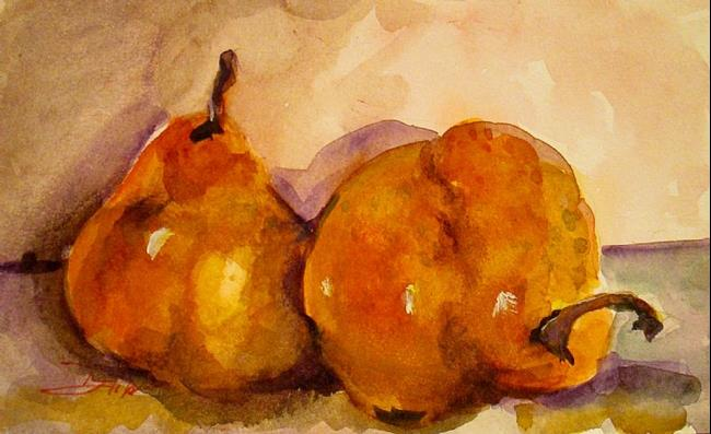 Art: Pear Still Life by Artist Delilah Smith