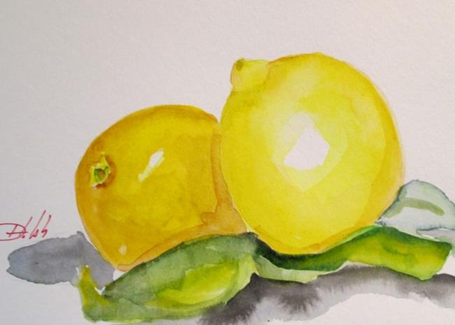 Art: Lemons by Artist Delilah Smith