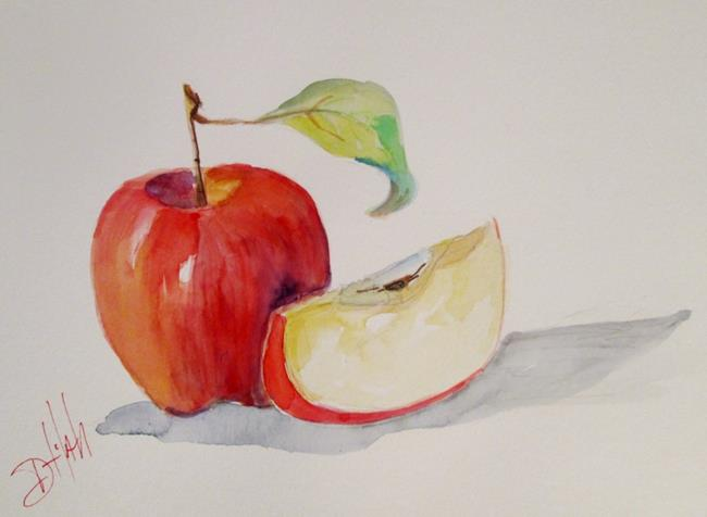Art: Apple Still Life by Artist Delilah Smith