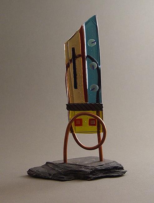 Art: Rocket by Artist Dawn Lee Thompson