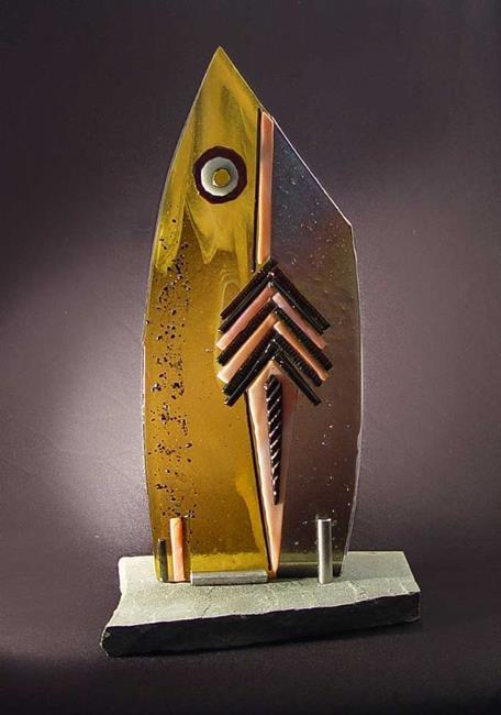 Art: Monolith 2 by Artist Dawn Lee Thompson