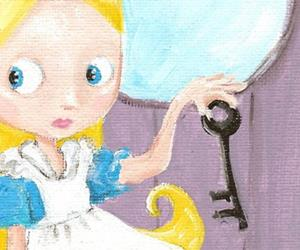 Detail Image for art Alice and the Key to WOnderland