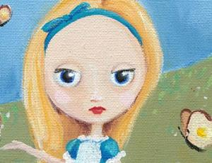 Detail Image for art Alice & the breadandbutterflies
