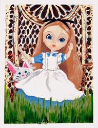 Art: Alice in wonderland pullip by Artist Noelle Hunt