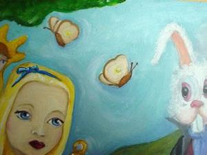 Detail Image for art Alice in wonderland Nude