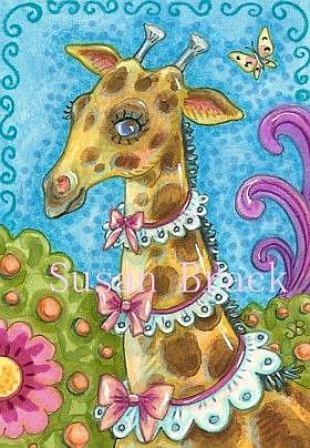 Art: RUFFLES AND BOWS by Artist Susan Brack