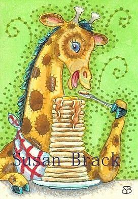 Art: TALL STACK by Artist Susan Brack