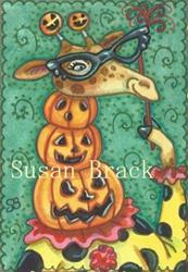 Art: JACK O' GIRAFFE by Artist Susan Brack