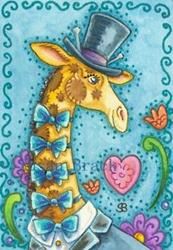 Art: TOP HAT AND BOW TIE by Artist Susan Brack
