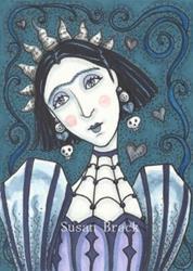Art: GOTHIC MARCELLA by Artist Susan Brack