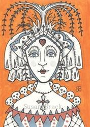 Art: GOTH TREE OF LIFE by Artist Susan Brack